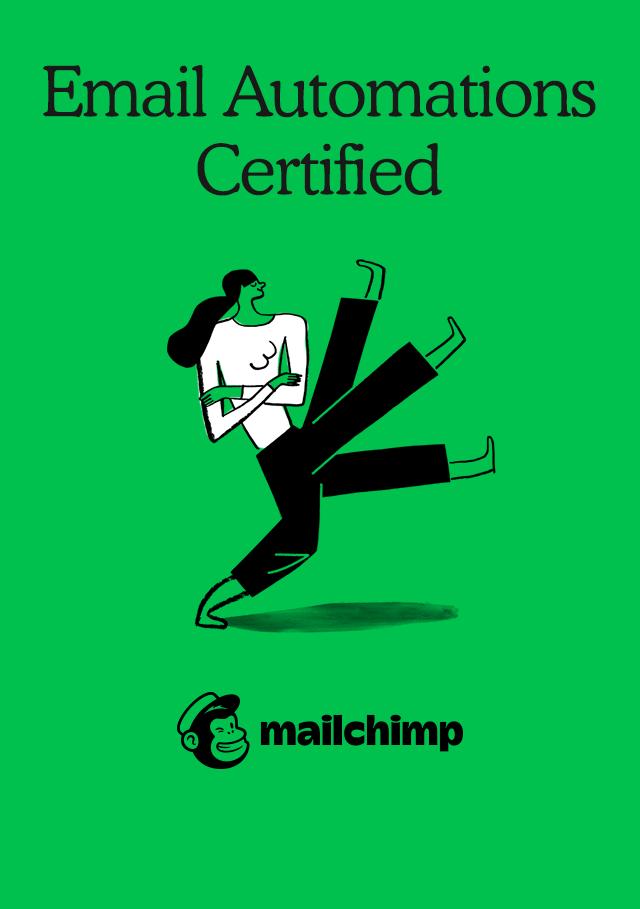 Mailchimp Zertifikat