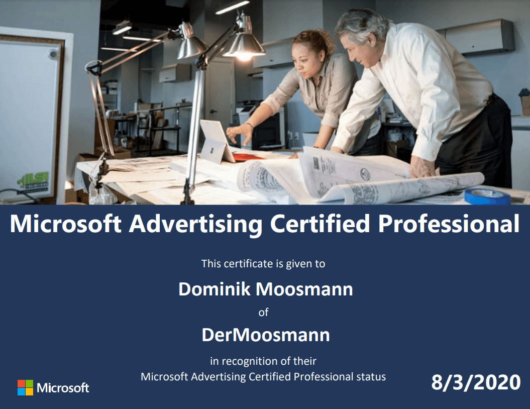 Microsoft Advertising Experte